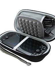 Schutz eva carry Reise-Kastenabdeckung Boxsack für PS Vita mit Ladegeräten