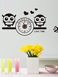 DIY Lovely Owl Wall Clock