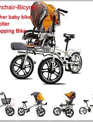"""yabb cochecito-bicicleta ™ carro cochecito convertible 3 ruedas madre&bebé 16 """"bicicleta de 3 en 1 familia en bicicleta a caballo"""
