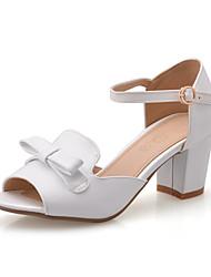 Women's Shoes Stiletto Heel Peep Toe Sandals Office & Career/Dress Blue/Pink/White