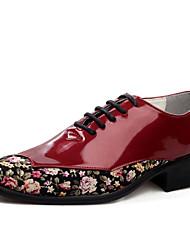 Oxfords ( Cuero , Negro/Verde/Rojo/Blanco Zapatos de hombre