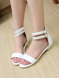 Women's Shoes  Wedge Heel Gladiator Sandals Dress/Casual Black/White