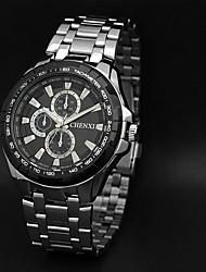 c&x relógios impermeável marca de luxo máquinas dos homens