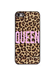 Personalized Gift Queen Design Aluminum Hard Case for iPhone 4/4S