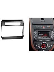 fascia radio de voiture pour kia soul panneau de plaque de façade kit d'installation garniture cd de bord