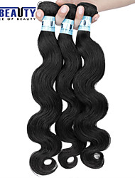 "1 Pc /Lot 12""-30""5A Brazilian Virgin Hair Body Wave Human Hair Wefts 100% Unprocessed Brazilian Remy Hair Weaves"