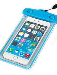 touchscreen luminosa transparente impermeável para iphone 6s 6 mais