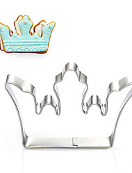 King's / Queen's Crown Shape Cookie Cutters  Fruit Cut Molds Stainless Steel