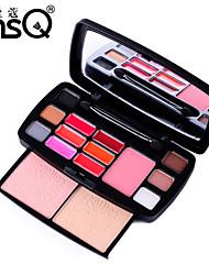 msq® 15 couleur des yeux d'ombre sacs de voyage beauté de maquillage professionnel + cy015