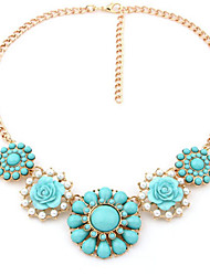New Arrival Fashional Hot Selling Popular Fresh Flower Dais Necklace