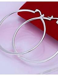 Серьги-кольца Жен. Сплав металлов Серьга