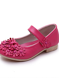 Girls' Shoes Wedding Closed Toe Loafers Blue/Pink/White/Coral