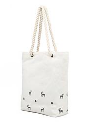 Personalized Canvas Bag Shoulder Sags Fresh White Printing Cloth Bags Handbag Shopping Bags