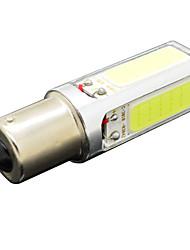 1156 12w 1120lm 4LED 6500-7500k cob lâmpada do sinal de lâmpada carro SMD auto viragem nevoeiro 12v branco