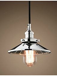 Industrial LOFT Chrome Pendant Light