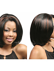 Fashion bob style synthetic wigs Short Straight hair African American wigs for women