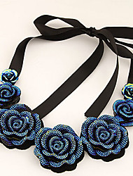 New Arrival Fashional Hot Selling Popular Flower Necklace