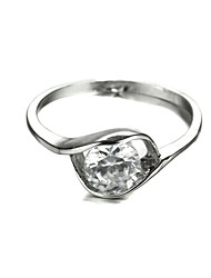 Sjeweler Ladies Unique New Style Zircon Bridal Ring