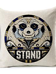 современный стиль мультфильм медведь образцу хлопок / лен декоративная подушка крышка