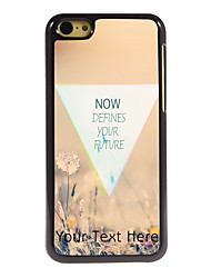 Personalized Gift Defines Your Future Design Aluminum Hard Case for iPhone 5C