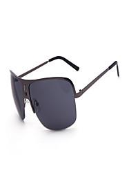 100% UV400 Women's Metal Full-Rim Retro Eyeglasses Outdoor Sunglasses