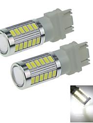 2X White 3156 3157 33 5730 SMD LED Rear Light Brake Bulb Lamp DC 9-30V F016