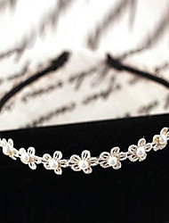 Women's Pearl Flower Headband
