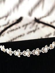 Women's Pearl Flower Headband