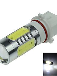 1X  5 COB  LED White P13W PSX26W LED Bulb Non-polar  Fog Lamp Light 7.5W  AC/DC12-24V H402