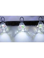 Eclairage de Salle de bains LED/Ampoule incluse Moderne/Contemporain Acier inoxydable