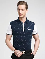 Men's Casual/Sport/Plus Sizes Short Sleeve Regular tennis shirt polo shirt (Cotton/Lycra)
