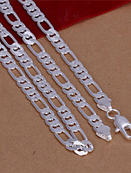Aiko Men's Korean-style Fashion Openable Silver-plated Necklace