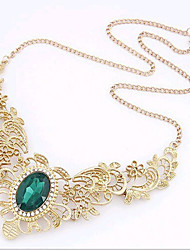 New Arrival Fashional Hot Sellign Hollow Wing Gem Necklace
