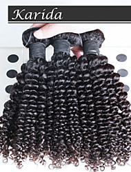 3 pcs/Lot Malaysian Deep Curly Wavy Hair, Top Quality Malaysian Human Hair Extensions