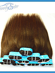 Wholesale Cheap Brazilian Human Straight Hair Brown Color Grade5A No Shedding No Tangles