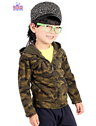 Winter Kids Boys Casual Hood 4-12 Years Jacket Camouflage