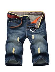 Pantalón De los hombres Casual Vaquero