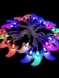 2w 4 metro lampadina diametro esterno 20pcs portato luci modellazione illuminazione stringa tentacolo fantasma, colore rgb