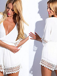 Arlena Women's Casual/Lace ½ Length Sleeve Dresses