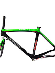Neasty Brand RB-NT10+FK-NT10 700C Full Carbon Fiber Frame and Fork 3K/12K Weave 48/50/52/54/56CM