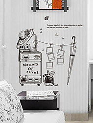 Creative Meaning of Travel PVC Wall Sticker Wall Decals