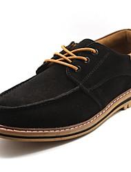 Men's Shoes Casual Oxfords Black/Blue/Gray