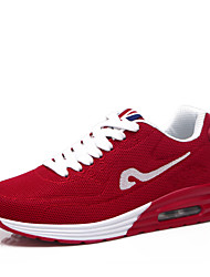 Women's Running Shoes Tulle/Fabric Blue/Red