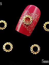 - Finger/Zehe/Andere - Nail Schmuck/Andere Dekorationen - Metall - 10 Stück - 6*5*1 cm