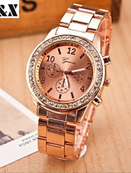Women's Fashion Leisure Quartz Steel Belt Wrist Watch(Assorted Colors) Cool Watches Unique Watches