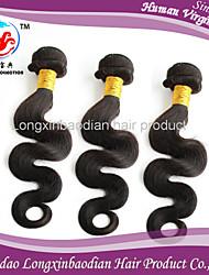 3 Bundles 5A Grade Hot Selling Wholesale Price 100% Unprocessed Virgin Brazilian Natural Color Body Wave Hair Weaving