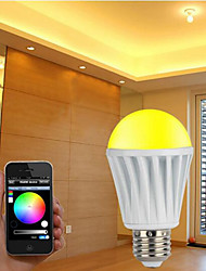 Hot Selling in USA & Europe Bluetooth LED Lighting Smart Bulb E27 RGBW Timer Music Home Lamp