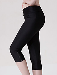 Women's Candy Color Casual Fitness Active Pants with Zipper