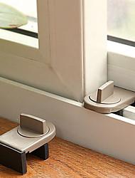 sécurité de bébé facile d'installation coulissante serrures pour fenêtres (paquet unique)
