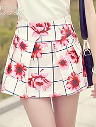 Pink Doll®Women's Casual/Print Mini  Shorts Pants